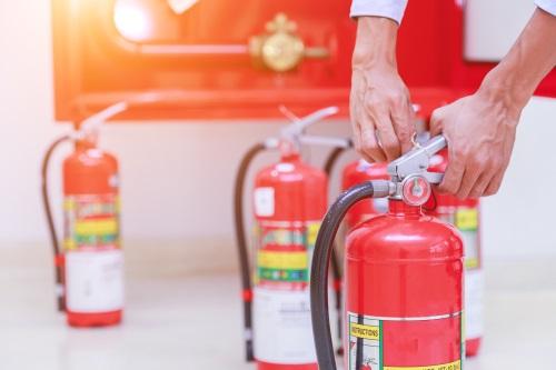 Feuerloescher Brandschutz